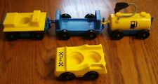Fisher Price Little People #933 Jetport Airport Tram (Fuel, Cars & Taxi)