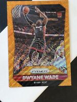2015-16 Panini Prizm #64 DWYANE WADE Orange Wave Refractor RARE SP - MINT! 🔥