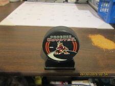 NHL Phoenix Coyotes InGlasCo Vegum Logo Hockey Puck