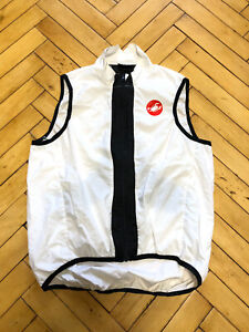 Castelli Men's Cycling Gilet Windbreaker Vest Size L