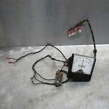 Diebold Voltage Volt Milliamps Meter Amp 0 15 Volt Simpson Gauge Analog Vintage
