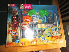 Barbie Cali Girl (Hang Ten) Surf Shop Playset 2003(MIB)NEW RARE Factory Sealed!!