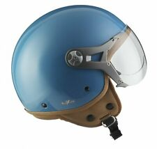 JET MOTORCYCLE-HELMET VESPA SCOOTER RETRO MOTO - SOXON SP-325 BLUE XS