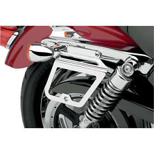 Cobra Chrome Saddlebag Support Brackets for 04-14 Harley Sportster Models