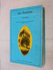 I VICERE Federico De Roberto Mario Lunetta Melita Lettura 46 1984 libro romanzo