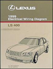 1999 Lexus LS 400 Wiring Diagram Manual NEW Original LS400 OEM Electrical Book