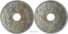 20 CENTIMES 1944 , FER , MONNAIE DE QUALITÉ