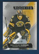 MALCOLM SUBBAN RC 2015-16 SP GAME USED 15-16 NO 125 #64/70  35298