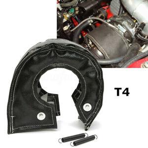 Turbo Blanket Turbocharger Heat Shield Cover Wrap For T4 GT40 GT42 GT45 Black