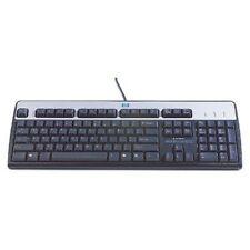 Hewlett Packard Keyboard KU-0316 QWERTY USB Englisch 434821-L32 Silber Schwarz