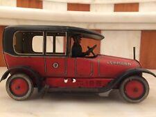 LATTA ZINN TIN CAR  LEHMANN  RARA 1908/13 CM,18 ARNOLD,SCHUCO,INGAP,MARCHESINI