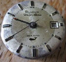 Bulova movement  cal 11 ATRCD  for SEA KING ALARM  M 9  , ref 773