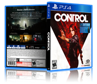 Control - ReplacementPS4 Cover and Case. NO GAME!!