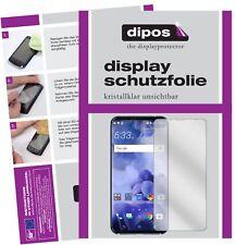 2x HTC U11 Plus Protector de Pantalla protectores transparente dipos