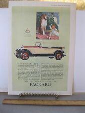 Vintage Print,PACKARD,Car Advertisement,1927