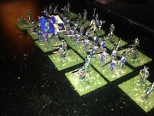 47 Painted 1/72 - Napoleonic Wurrttemberg Line Infantry w Jaegers & Command !!