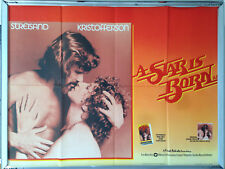 Cinema Poster: A STAR IS BORN 1976 (Quad) Barbra Streisand Kris Kristofferson