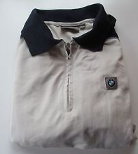 BMW sports polo - Medium - Regular fit - Navy Blue and Beige Gray