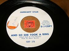 JANUARY STAR - AND SO SHE TOOK A RING - AMERICA THE   / LISTEN - GIRL GROUP