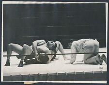 1931 Strangler Lewis, Wins the Title Superstar of Early Wrestling Vintage Phot