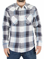 Camicie casual e maglie da uomo blu Levi's taglia XL