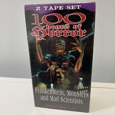 100 Years Of Horror Vhs Frankenstein Monsters Christopher Lee Factory Sealed