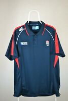 England Rugby Shirt Canterbury World Cup 2015 Size XXL Polo