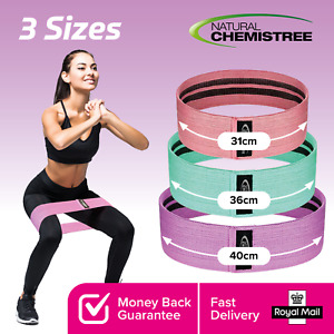 Fabric Resistance Bands Hip Circle Glute Booty Butt Exercise Loop Bands Non Slip