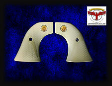 RUGER Magna-Tusk™ FISHSCALE IVORY GRIPS ~ NEW VAQUERO, MONTADO, 50TH ANV +GLE ^