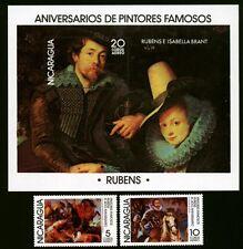 Nicaragua Block 103+2014/15 Gemälde Rubens postfrisch