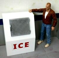 RC 1/10 Scale ICE Box Shop Garage Rock Crawler Doll House Accessories USA