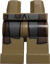 NEW Lego - Figure Legs - Hobbit / LotR - Aragorn Dark Tan pants 9472 9474 79008