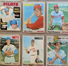 Topps 1970 Original Cards. 9 Cards. Gates Brown and others.