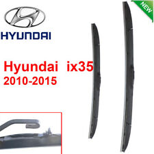 Pair Front Wndshield Windscreen Wiper blades for Hyundai ix35 2010-2015