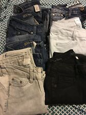 junior jeans lot of 7 euc size 0
