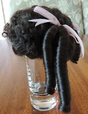 """MONIQUE DOLL WIG  """"TIFFANY""""'  DK BROWN S IZE 5-6 NEW WITH TAGS"""