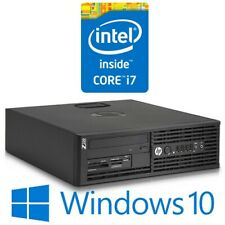HP Z220 SFF Desktop Computer PC Intel i7 3770 8G 500G DVDRW Quadro Win 10 Pro