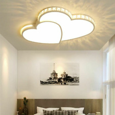 Dimming Chandelier Led Bulb Home Ceiling Light Fixtures Heart Shade Style Lamp