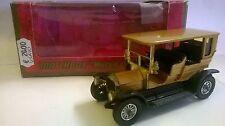 MATCHBOX 1:43 AUTO DIE CAST PEUGEOT 1907 ORO ART Y-5 Y5 USATO