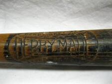 Derby Made No 50 Barre Vermont Baseball Bat Antique Old Vtg