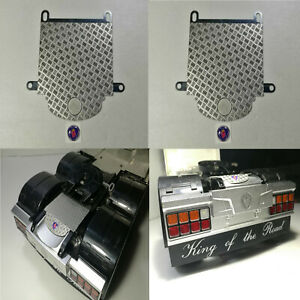 Metal Anti-Skid Plate RC Car Modification for Tamiya 1/14 56323 Scania Upgraded