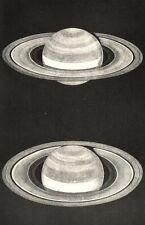 More details for astronomy. saturn. according to warren de la rue,  bond & struve 1877 print