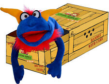 Living Puppets Handpuppe Puppets in the Box: Crazy Blue Monster