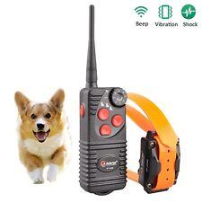 Aetertek 216D Dog Training Shock Collar ElectricTrainer Bark Stop Rechargeable
