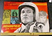 Indianapolis Cartel de Banco Original 33 x 23-1969 Paul Newman
