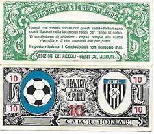 CALCIO DOLLARI DA 10 JUVENTUS