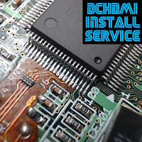 Professional SEGA DreamCast HDMI DCHDMI Installation Service + Other Mods!