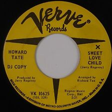 HOWARD TATE: Sweet Love Child VERVE Northern Soul SUPER Rare 45 Hear It!