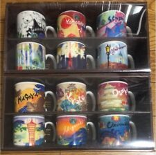 STARBUCKS Area Collectible Demi Set EAST and WEST Japan Limited Item set of 12