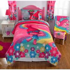 Dreamsworks TROLLS MOVIE Show Me A Smile BED IN BAG BEDDING SET KIDS GIRLS TWIN